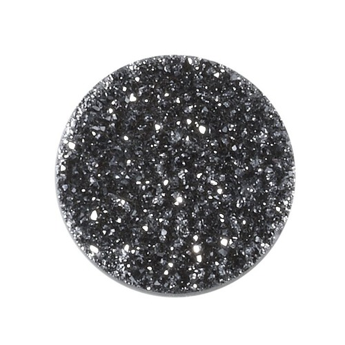 Druzy Round Coated Cut Stone
