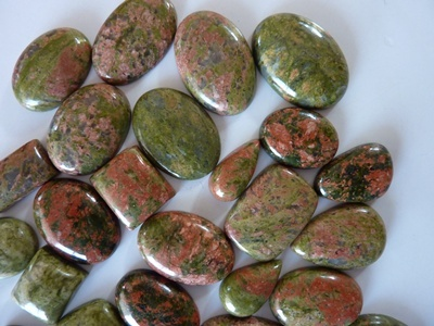 Green Jasper Cut Stone