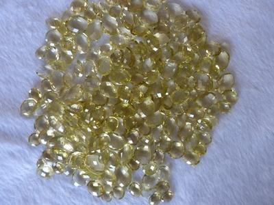 Lemon Quartz Cut Stone