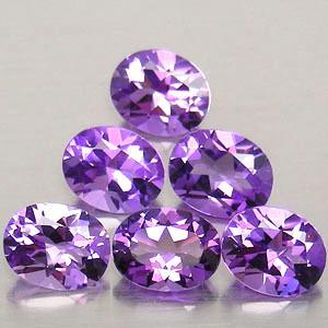 Pink Amethyst Cut Stones