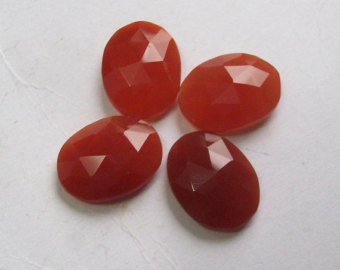 Red Onyx Cut Stones