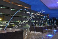 Commercial Geyser Fountain