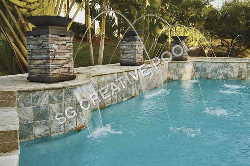 Laminar Pool Fountain