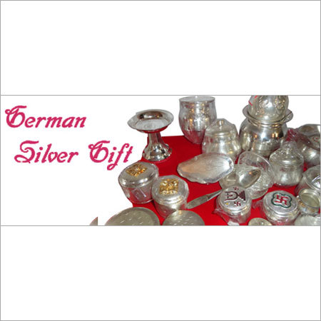 German Silver Pooja Articles