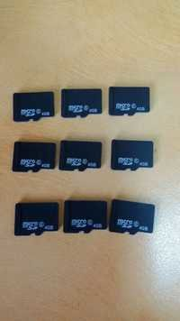 4GB Micro SD Cards