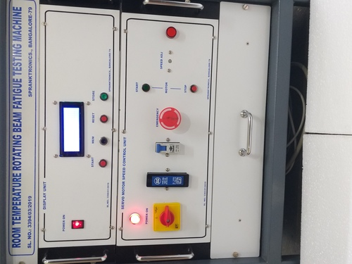 Rotating Bending Fatigue Testing machine controller