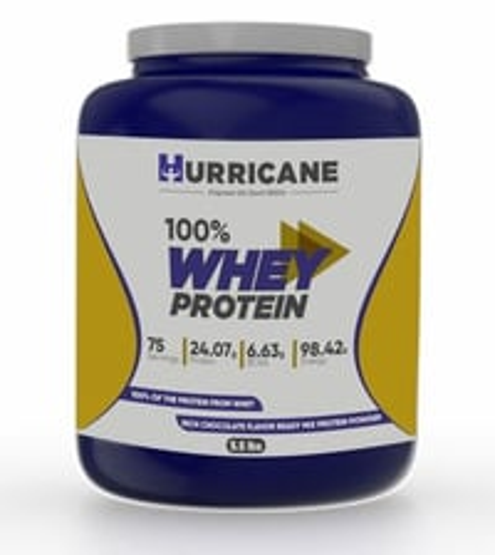 Hurricane 100% Whey Protein - Chocolate Flavour