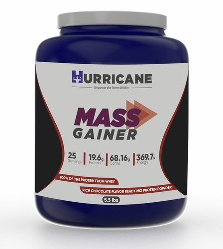 Hurricane Mass Gainer - Chocolate Flavour