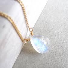 Rainbow Moonstone Necklaces