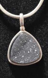 Druzy Gemstone pendant