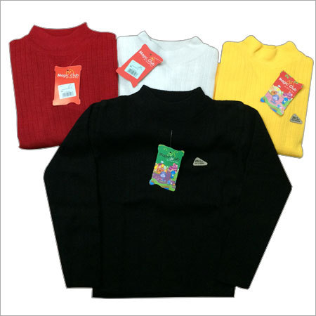 Kids Woolen T Neck Top