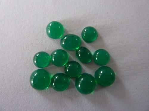 Green Hydro Cabochons