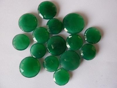 Green Onyx Cabochons