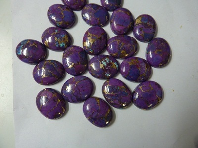 Natural Purple Turquoise  Cabochons