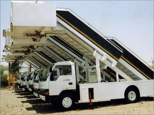 Mobile Step Ladder