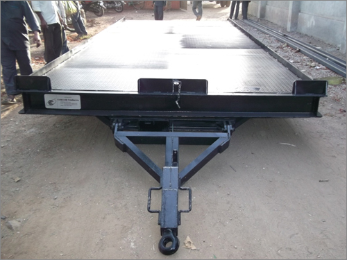 Special Purpose Material Handling Trolley