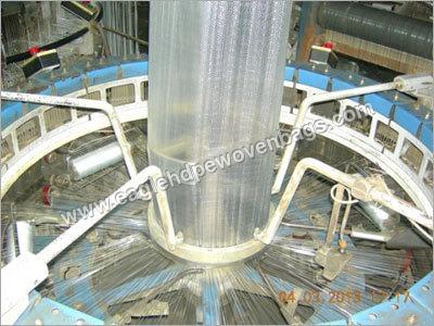 HDPE Woven Transparent Fabric