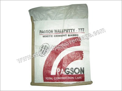 HDPE Woven Paper Laminated Bags