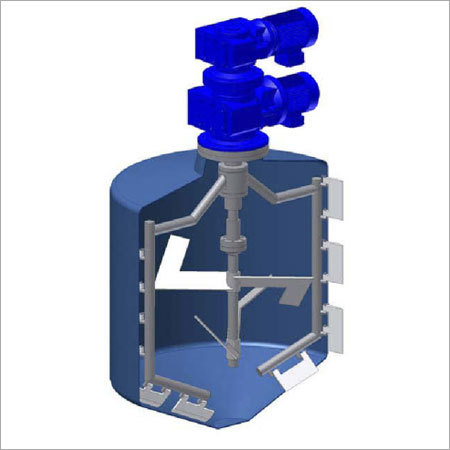 Counter Rotating Coaxial Mixer For Most Difficult Mixing Tasks