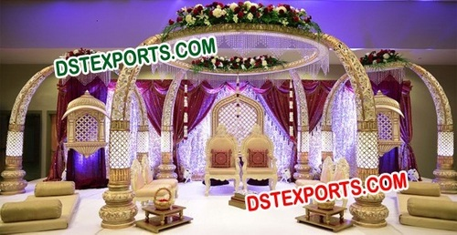 Latest Royal Wedding Mandap