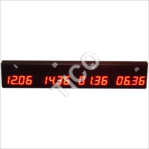 LED Dual Face Clocks