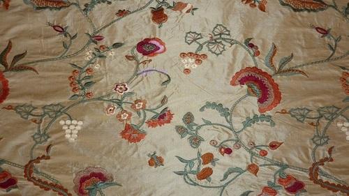 Designer Embroidered fabrics