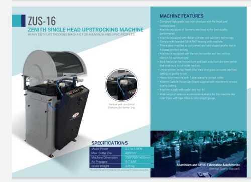 Single Head Upstrocking Machine