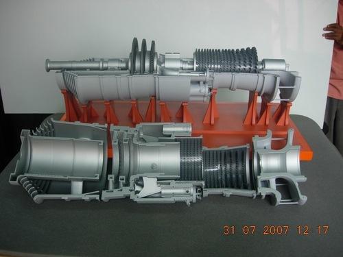 Gas Turbine Cross Section Model