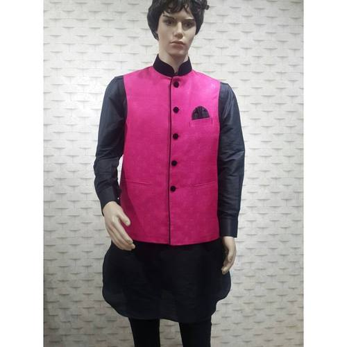kurta pyjama with waist coat