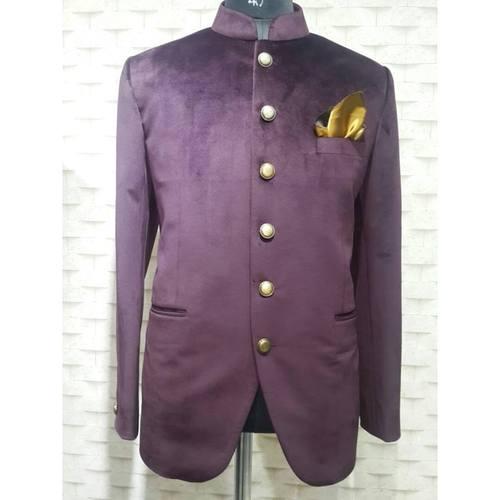 velvet jodhpuri coat