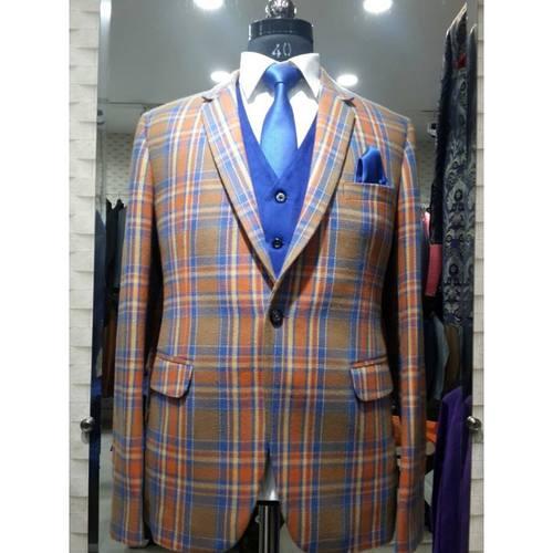 digital woolen coat