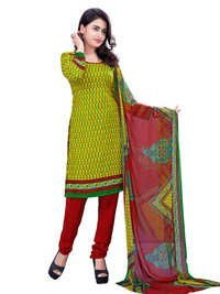 Party wear exclusive printed tunic salwar suit