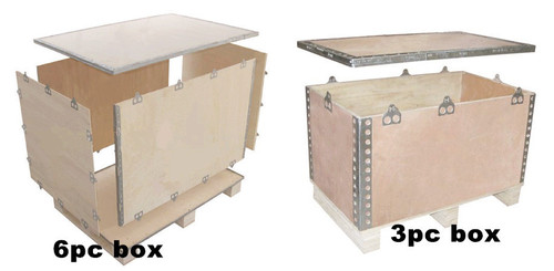 nailless plywood box machine