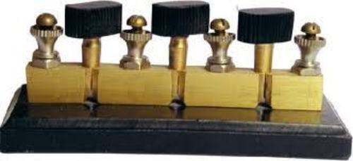 Plug Key with Brass Block