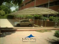 Tensile Fabric Parking Structures