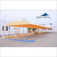 Cantilever Tensile Car Parking Structures