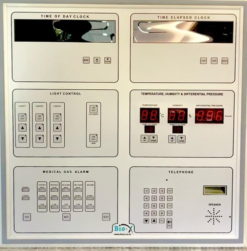 Modular Operation Theater control panel