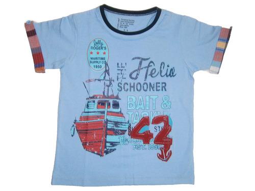 round nack t-shirt kid boy & boys t-shirt