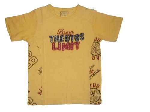 Round Nack T-Shirt For Kid Boy & Boys