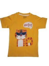 Round Nack T-Shirt For Kid Boy & Boys