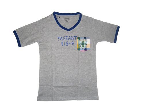 V-nack t-shirt for kid boy & boy