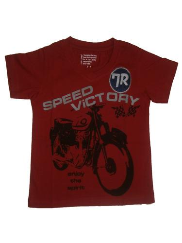 V-neck t-shirt for kid boy & boy