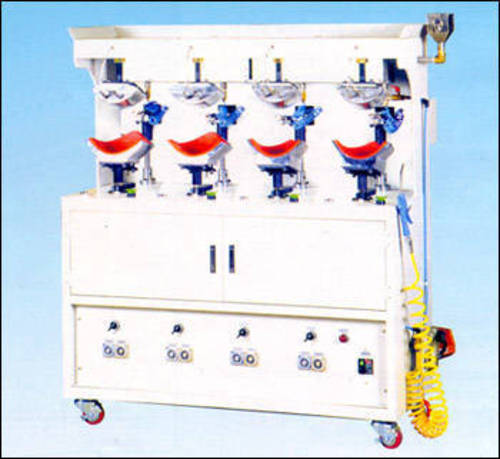 Cap Auto Front Visor Spray Pressing Machine