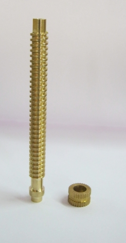 Brass Acme Threaded Rod