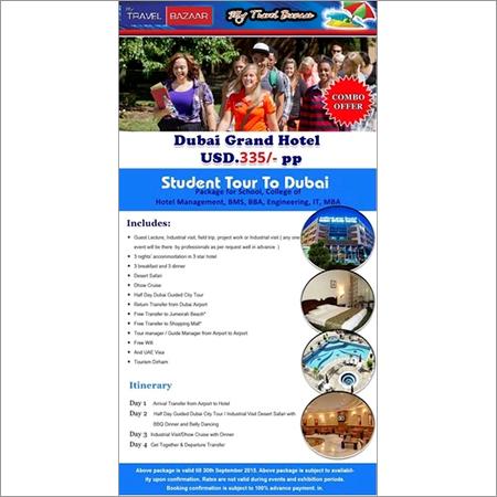 Student Tour to Dubai