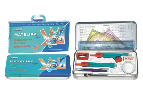 Matelika Plus Mathematical Instruments Box