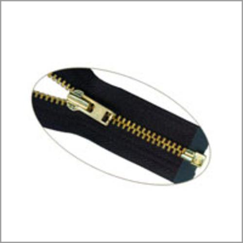 Antique Brass Zippers