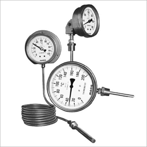 Mercury Actuated Thermometer