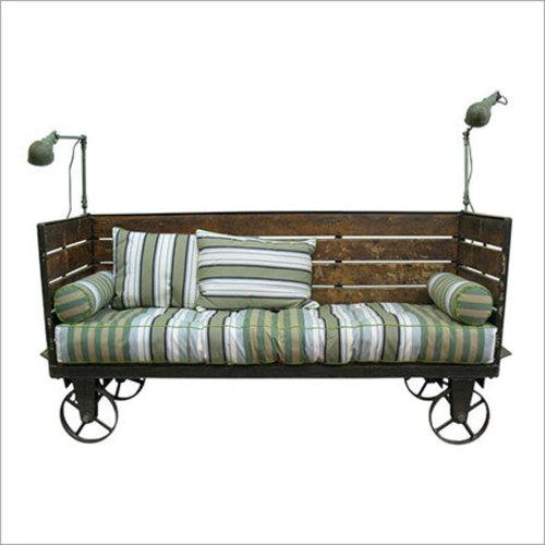 Wooden Serving Cart