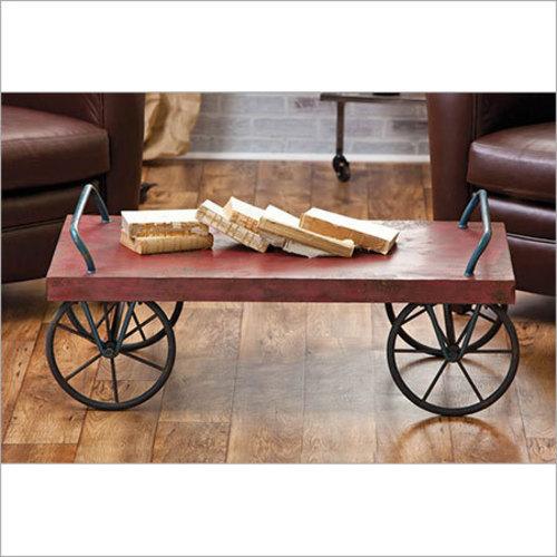 Vintage Wooden Trolley